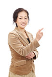 Asiatisk affärskvinna Fotografering för Bildbyråer