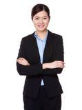 Asiatisk affärskvinna Royaltyfria Foton