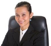 Asiatisk affärskvinnadropp Royaltyfri Bild