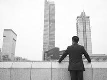 asiatisk affärsledare Arkivfoto
