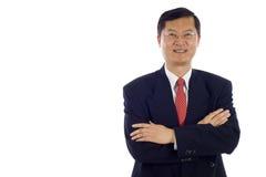 asiatisk affärsman Arkivfoto