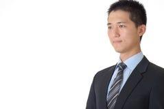 asiatisk affärsman royaltyfria bilder