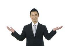 asiatisk affärsman Arkivfoton