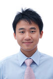 asiatisk affärsframsidaman Arkivfoton