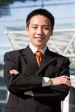 asiatisk affärskinesman Arkivfoto