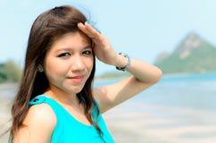 asiatisk attractivkvinna Arkivbilder