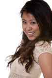 asiatisk attraktiv kvinna Arkivbild