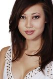 asiatisk beautuful kvinna Arkivfoton