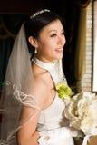 asiatisk brud Arkivfoto