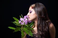 asiatisk brud Royaltyfria Foton