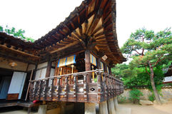 Asiatisk byggnadsdetalj Royaltyfri Bild