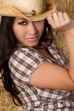 asiatisk cowgirl Royaltyfria Foton
