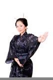 asiatisk dans Arkivbild