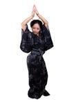asiatisk dans Fotografering för Bildbyråer