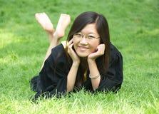 asiatisk deltagare royaltyfri foto