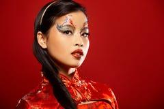 asiatisk dockaplast- Arkivfoton