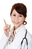 asiatisk doktor arkivfoto