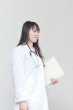 asiatisk doktorskvinna Arkivfoton