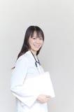 asiatisk doktorskvinna Royaltyfri Foto
