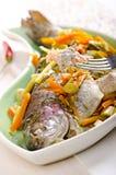 asiatisk fiskstil Royaltyfria Bilder