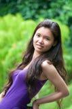 asiatisk flicka Arkivfoton