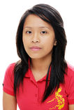 Asiatisk flicka Fotografering för Bildbyråer