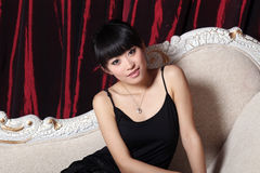 asiatisk flicka Royaltyfria Bilder
