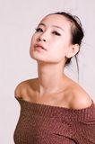 asiatisk flicka Royaltyfria Foton