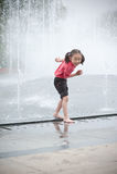 asiatisk flicka little Arkivfoto
