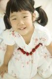 asiatisk flicka little Arkivbild