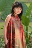 asiatisk flicka little royaltyfri foto