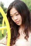 asiatisk flickasommar Arkivfoton
