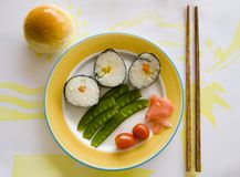 asiatisk frukost arkivfoton