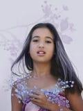 asiatisk glamour arkivbild