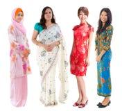 Asiatisk grupp för Southeast. Arkivfoto