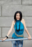 asiatisk härlig kines Fotografering för Bildbyråer