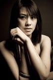 asiatisk härlig kvinna Royaltyfri Bild