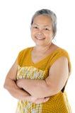 Asiatisk hög kvinna Arkivbild