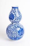 asiatisk keramisk kinesisk japansk vase Royaltyfri Fotografi