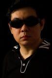 Asiatisk kines Guy Portrait Royaltyfri Foto