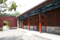 Asiatisk kines, Peking, forntida byggnad, Tiantan, fastaslott Royaltyfri Fotografi