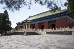 Asiatisk kines, Peking, forntida byggnad, Tiantan, fastaslott Royaltyfria Foton