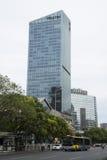 Asiatisk kines, Peking, Jinmao Westin storslaget Washington D C hotell Fotografering för Bildbyråer