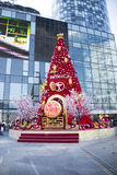 Asiatisk kines, Peking, Plaza för tombolastadsshopping Royaltyfri Fotografi