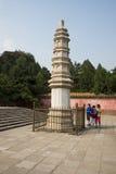Asiatisk kines, Peking, sommarslotten, den viktiga avdelningen fyra av kontinenten Arkivfoto