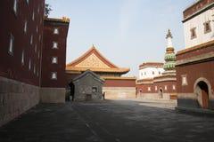 Asiatisk kines, Peking, sommarslotten, den viktiga avdelningen fyra av kontinenten Royaltyfria Foton