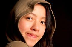 asiatisk kinesisk flicka Arkivfoton