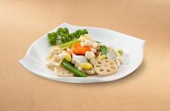asiatisk kinesisk kokkonst royaltyfri foto
