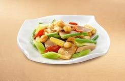 asiatisk kinesisk kokkonst royaltyfri bild