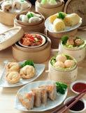 asiatisk kokkonst Arkivfoton